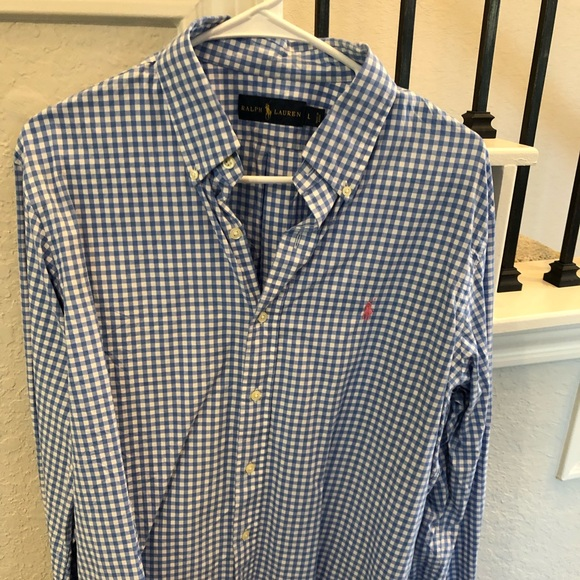 Polo by Ralph Lauren Other - Polo Large checkered Button Down Size L